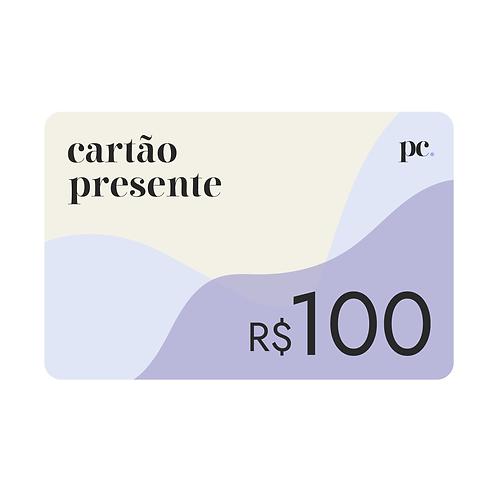 Vale Presente • R$100