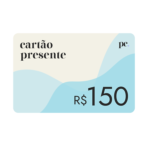 Vale Presente • R$150