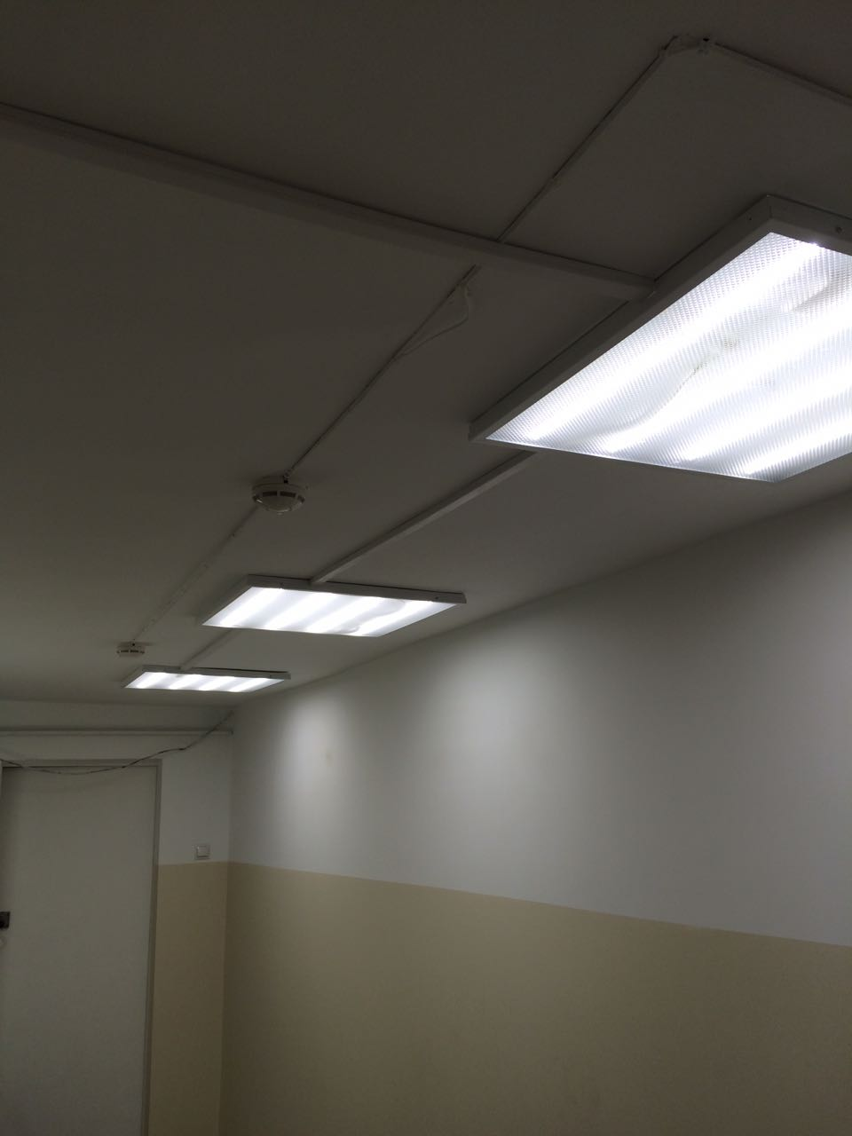 Освещение административных помещений