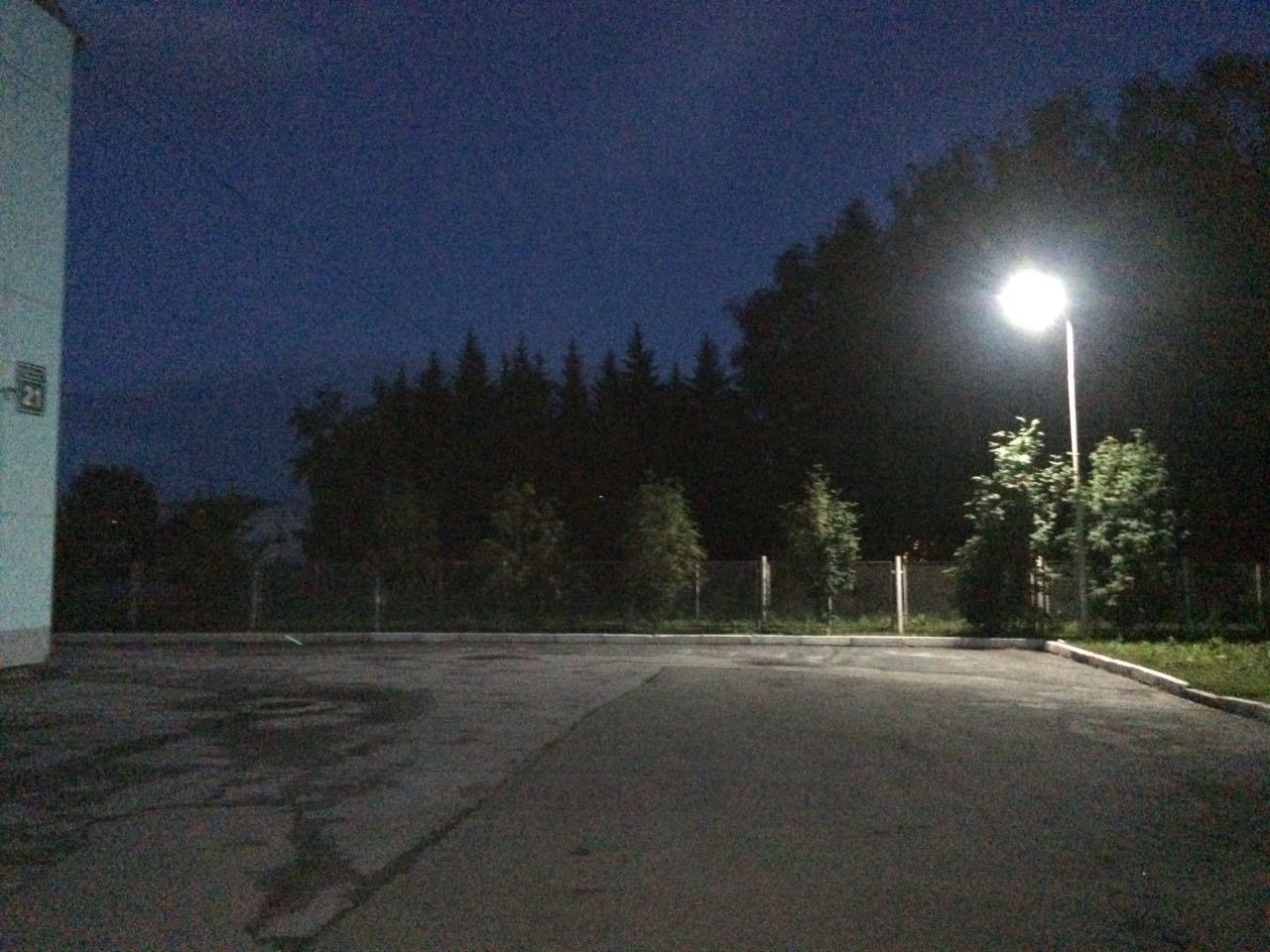 Консольный светодиодный светильник