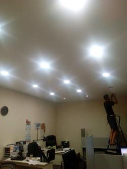 Круглые светодиодные панели