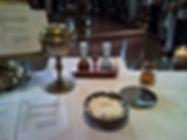 Eucaristía en Congregación El Redentor, en Iglesia Evangélica Luterana en Villa del Parque