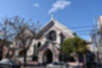 Iglesia Luterana de Villa del Parque, fachada principal, funcionando hace casi 100 años