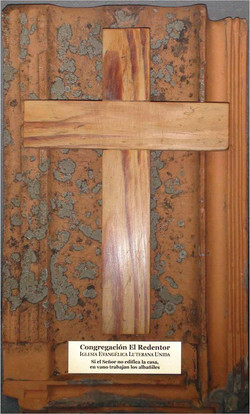 Cruz del piso original