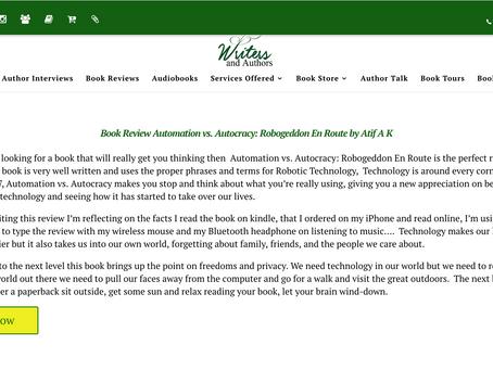 Book Review Automation vs. Autocracy: Robogeddon En Route by Atif A K