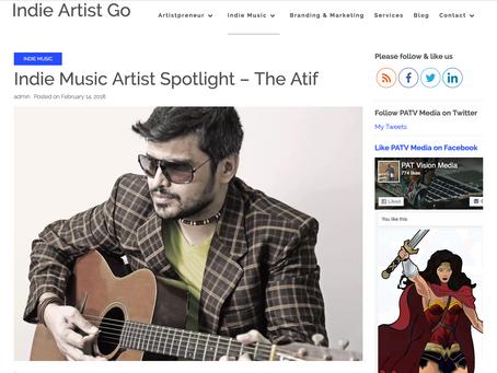 Indie Music Artist Spotlight – The Atif
