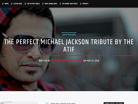 THE PERFECT MICHAEL JACKSON TRIBUTE BY THE ATIF