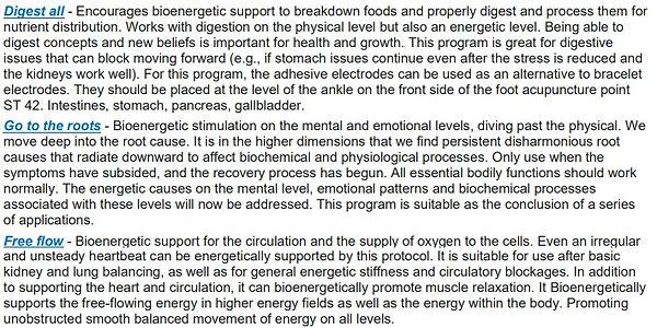 Healy Program descriptions - deep cycle2
