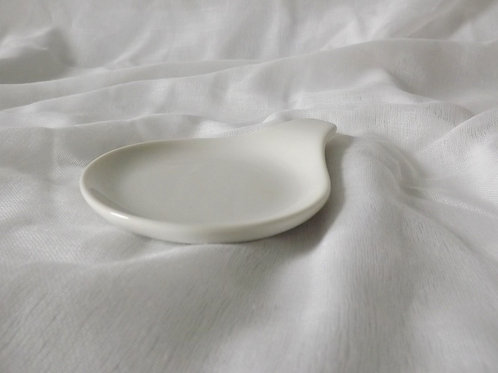 White Infuser Dish