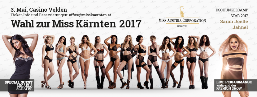 Miss Kärnten 2017