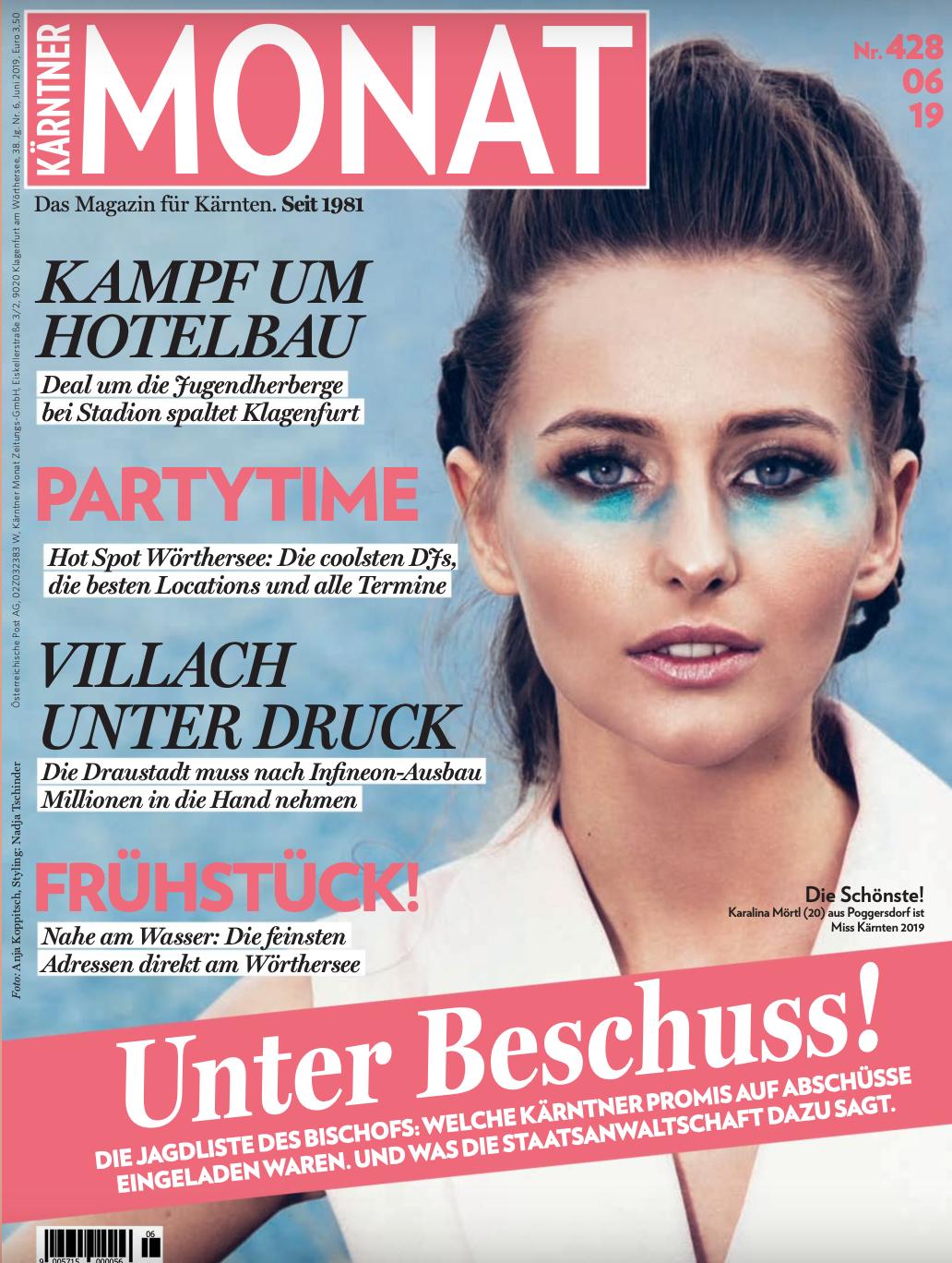 Kärntner Monat Cover