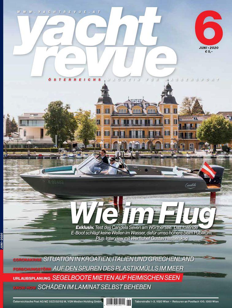 Cover Yacht Revue Juni 2020