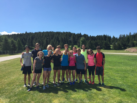 Day 10 - Hills workout with Olympian Sophie Duarte and very fun afternoon