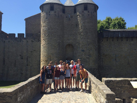 Day 12. Carcassonne medieval castle and back to Toulouse