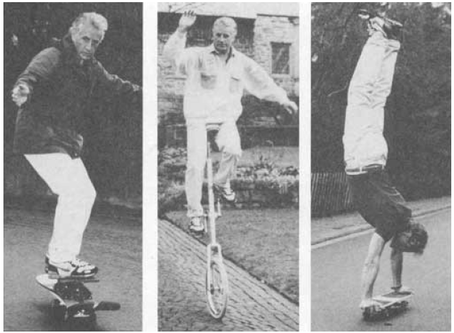 Paul Tholey practiced complex movements in lucid dreams and advised others to do the same