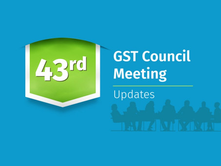 43 council meetings update: 28.05.2021 amnesty scheme get approved for previously not filled return