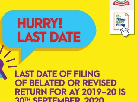 Filling of income tax return
