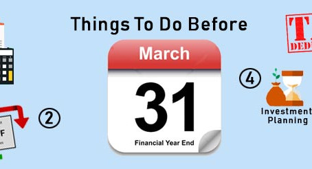Things to do before 31.03.2021