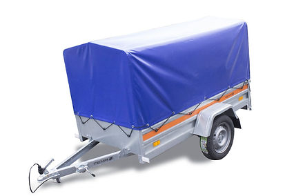 Remorca cu prelata 750 kg/60 Ron zi