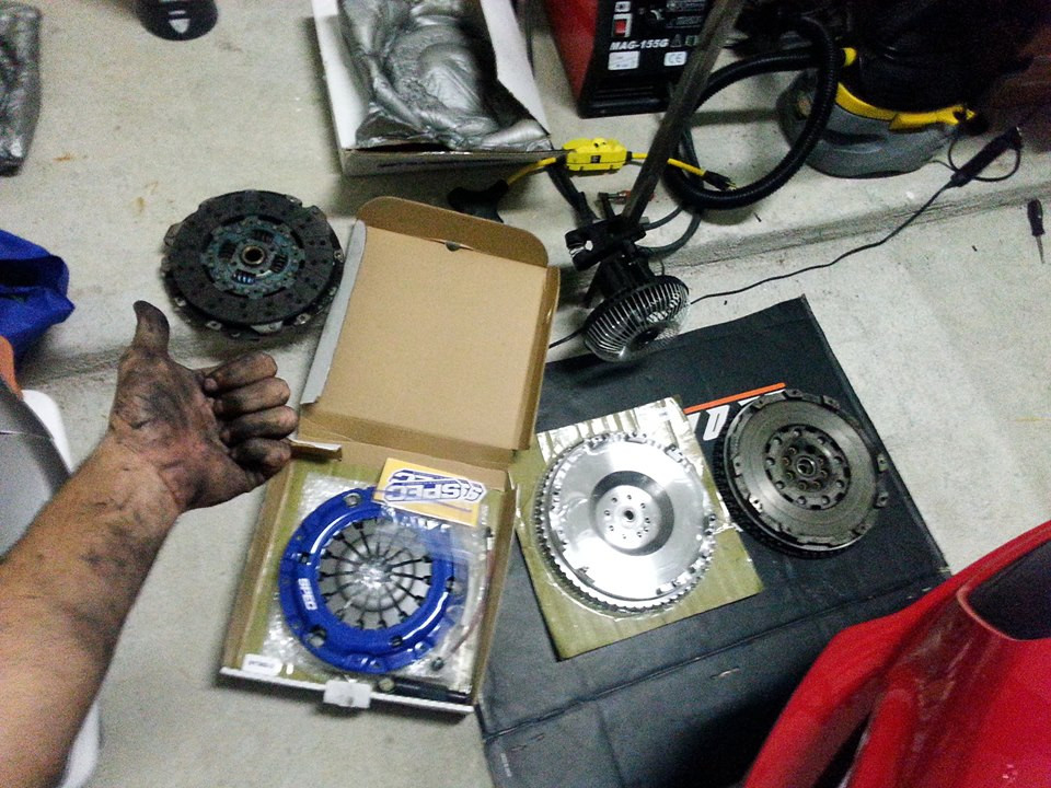 Spec Stage 2 Clutch and Steel Flywheel (Aug 2014)