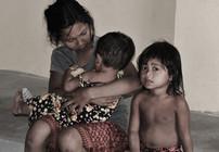 Cambodia Siblings