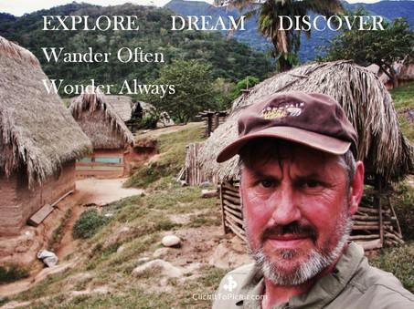 """Wander Often Wonder Always """"Kenneth Weaver"""""""