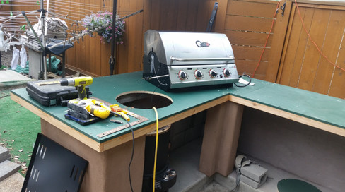 Installing Char-Broil Signature Series Stanless Steel BBQ