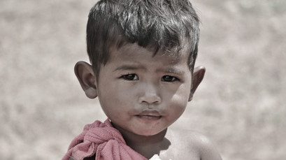 Young Cambodian Boy