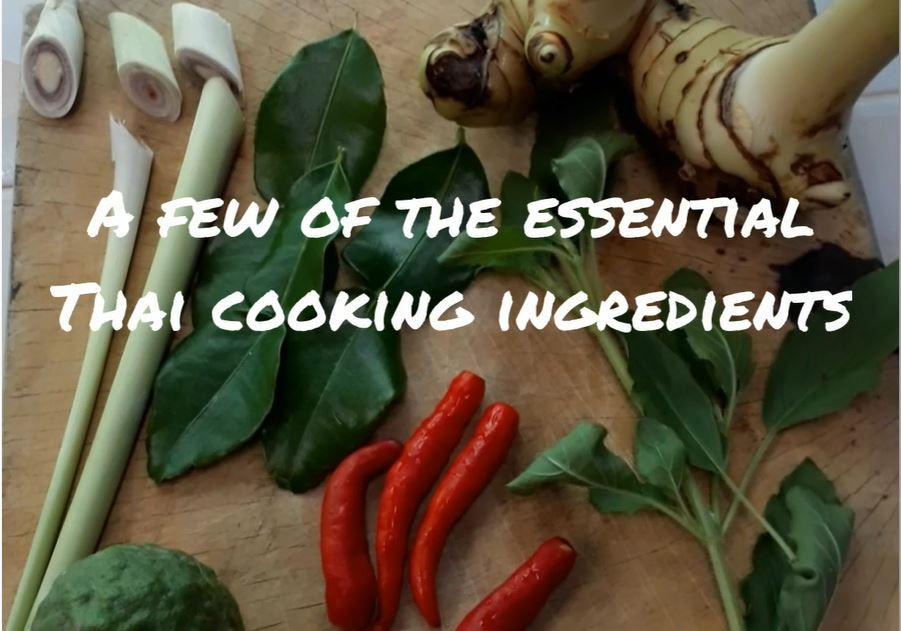 Essential Thai Cooking Ingredients