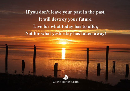 Leave Past in the Past