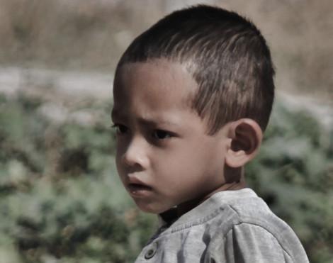 Cambodia Young Boy