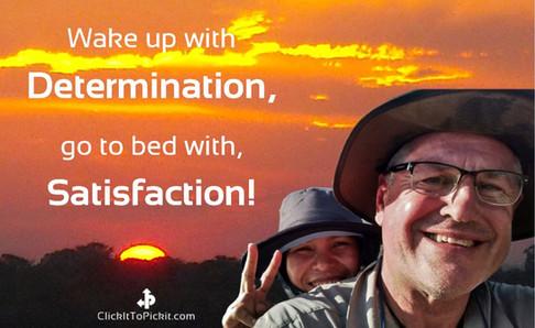Kenneth Weaver Determination Satisfaction