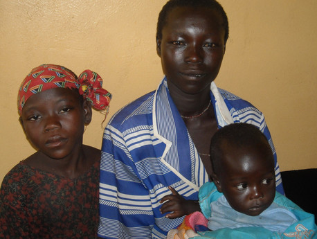Sudan Mother with Children