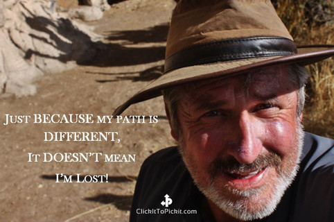 """My Path is Different """"Kenneth Weaver"""""""