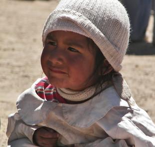 Bolivia Little Girl