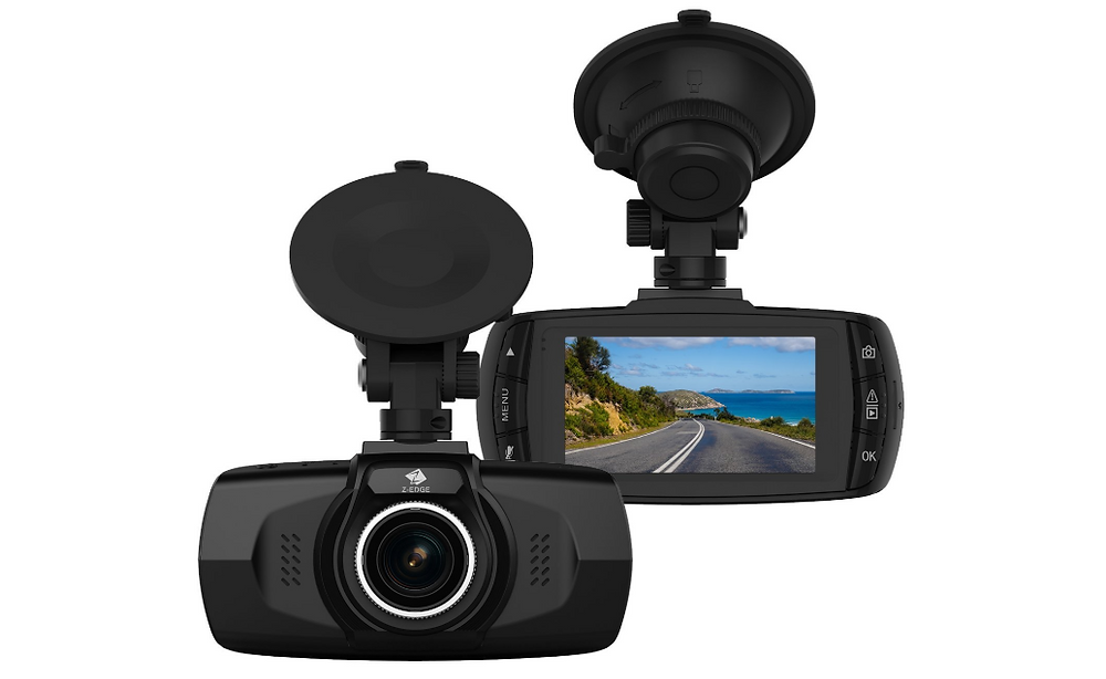 Dash Camera with Monitor