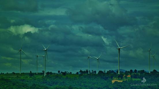 Wind turbines Nakhon Ratchasima Province