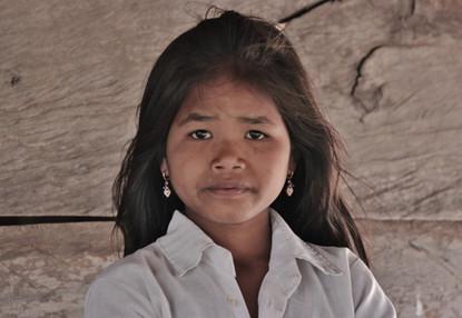 Cambodia Teenage Girl