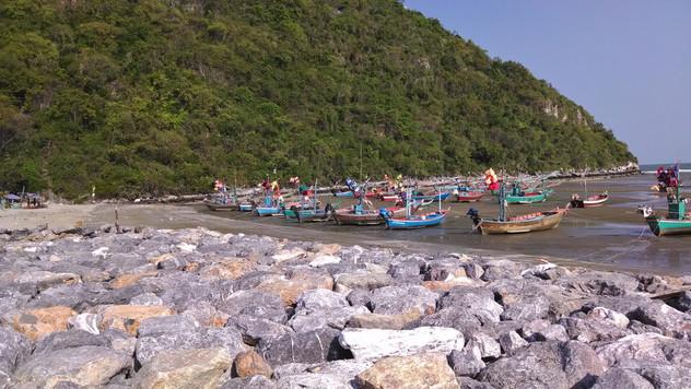 Fishing Boats at Khao Kalok
