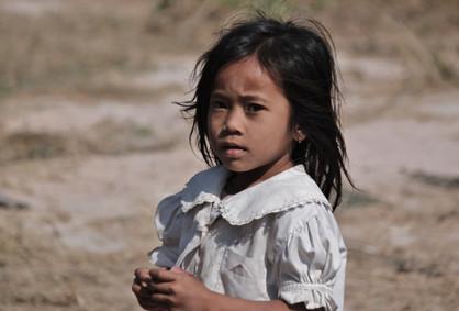 Preteen Cambodia girl