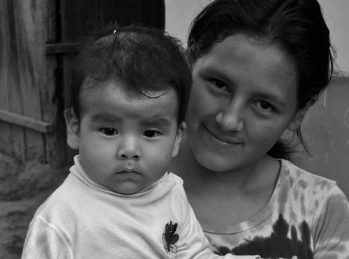 Bolivia Mother Daughter