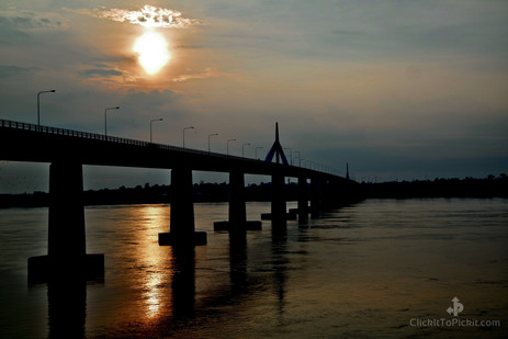 Friendship Bridge II (Mekong River Laos/Thai Border)