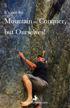 """Not the Mountain we Conquer """"Kenneth Weaver"""""""