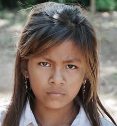 Teenage Cambodian Girl