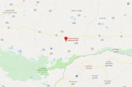 Phanom Rung Google Map