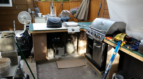 """""""The Big Easy"""" Outdoor Kitchen"""