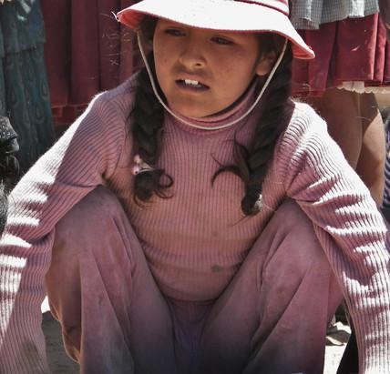 Bolivia Preteen Girl
