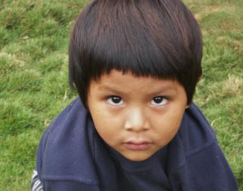 Bolivia Young Boy