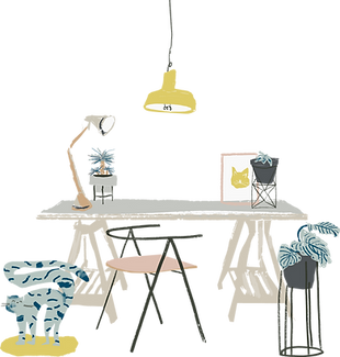 ufficio a casa
