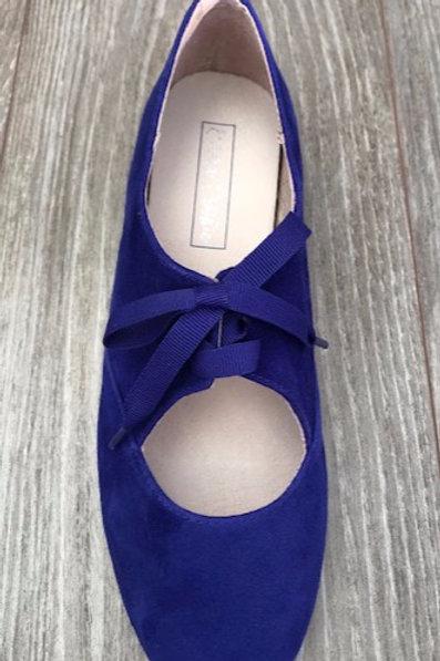 Jazz Shoe -Sapphire Blue